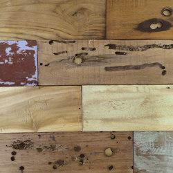 Mosaikholz TeakBali | Holz Mosaike | StoneslikeStones