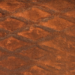 RollRust medium diamond mesh without weld seam | Wall films | StoneslikeStones