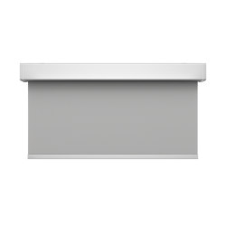 Closed cassette, Twin Pull - anodized aluminium | Roller blinds | Kvadrat Shade