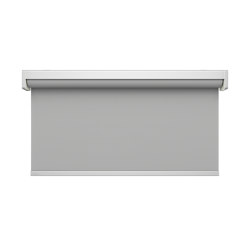 Semi-open cassette, Twin Pull - anodized aluminium | Roller blinds | Kvadrat Shade