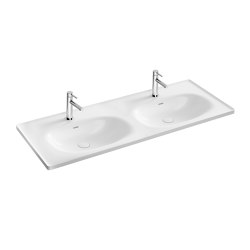 Equal Double Vanity Washbasin | Wash basins | VitrA Bathrooms