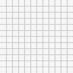 Miniworx 2.5x2.5 Miniworx RAL 9016 White Mosaic Matt | Mosaicos de cerámica | VitrA Bathrooms