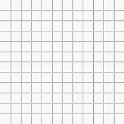 Miniworx 2.5x2.5 Miniworx RAL 9016 White Mosaic Glossy | Ceramic mosaics | VitrA Bathrooms
