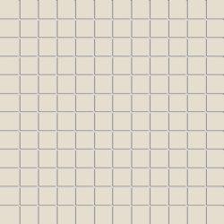 Miniworx 2.5x2.5 Miniworx RAL 0809005 Cream Mosaic Matt | Mosaicos de cerámica | VitrA Bathrooms