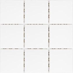 Miniworx 10x10 Miniworx RAL 9016 White Mosaic Glossy | Mosaicos de cerámica | VitrA Bathrooms