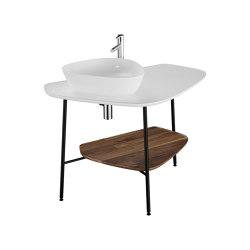 Plural Ceramic Counter | Wash basins | VitrA Bathrooms
