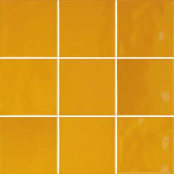 Retromix 10x10 Retromix Tile Amber Yellow Glossy | Ceramic tiles | VitrA Bathrooms