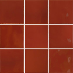 Retromix 10x10 Retromix Tile Lava Red Glossy | Ceramic tiles | VitrA Bathrooms