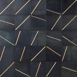 Yoko 01 | Dalles metalliques | De Castelli