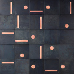 Yoko 02 | Baldosas metálicas | De Castelli