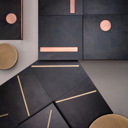 Yoko | Dalles metalliques | De Castelli