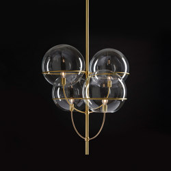 Lyndon | 450 OR | Suspended lights | Oluce