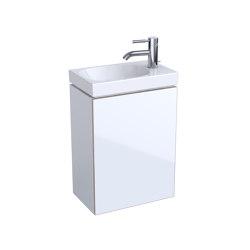 Acanto | handrinse basin cabinet white | Vanity units | Geberit