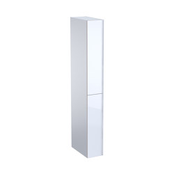 Acanto | tall cabinet with two cargos white | Freestanding cabinets | Geberit