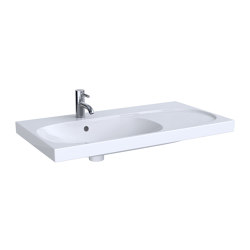 Acanto | washbasin with shelf surface | Wash basins | Geberit