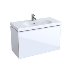 Acanto | washbasin cabinet white | Vanity units | Geberit