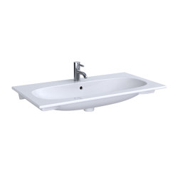 Acanto | washbasin SlimRim | Wash basins | Geberit