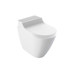 AquaClean | Tuma floor-standing WC stainless steel brushed | WC | Geberit