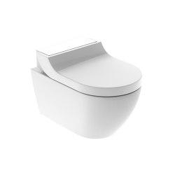 AquaClean | Tuma wall-hung WC white / glass | WC | Geberit