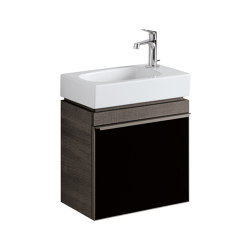 Citterio | cabinet for handrinse basin black | Vanity units | Geberit