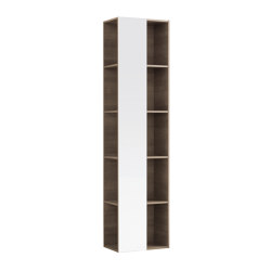 Citterio | shelf unit with mirror | Freestanding cabinets | Geberit