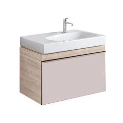Citterio   washbasin cabinet taupe   Vanity units   Geberit