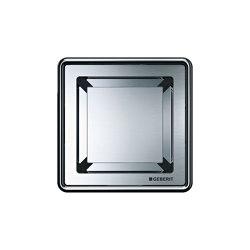 Floor-even shower solutions | Design grating square for floor drains | Linear drains | Geberit