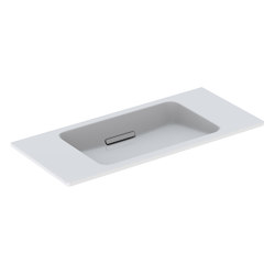 ONE | washbasin floating design | Wash basins | Geberit