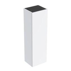 Smyle | semi tall cabinet white | Freestanding cabinets | Geberit