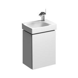 Xeno² | cabinet for handrinse basin white | Vanity units | Geberit