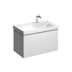 Xeno² | washbasin cabinet with two drawers white | Mobili lavabo | Geberit
