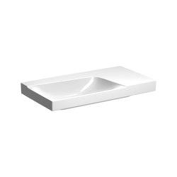 Xeno² | washbasin with shelf surface | Wash basins | Geberit