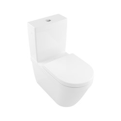 Architectura Washdown WC for close-coupled WC-suite rimless | WC | Villeroy & Boch