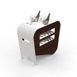 Wine trolleys | Trolleys | ESIGO