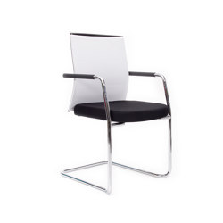 agilis matrix FA | Cantilever with integrated armrests | medium high | Chairs | lento