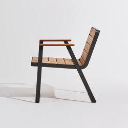 Makemake | Armrest Chair (Teak) | Sillas | Terraforma