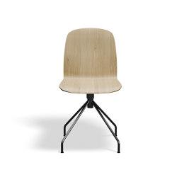 Boston Chair - Oak/Swivel Chrome | Sillas | Askman Design