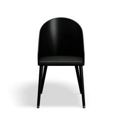 ME Dinning Chair - Black/Black | Sillas | Askman Design
