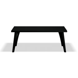 Viggo Table - Black/180x90 | Dining tables | Askman Design