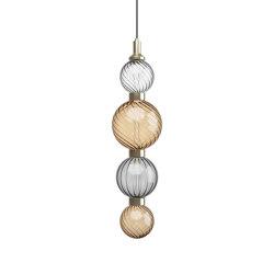 Drop Bronze Ceiling Lamp 1 | Suspensions | SICIS