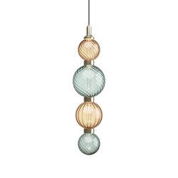 Drop Acqua Marina Ceiling Lamp 1 | Suspended lights | SICIS