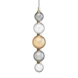 Drop Bronze Ceiling Lamp 2 | Suspensions | SICIS