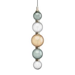 Drop Acqua Marina Ceiling Lamp 2 | Suspensions | SICIS