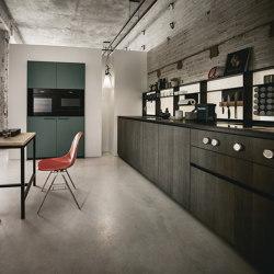 NX 640 quercia elegante grigio grafite | Cucine parete | next125
