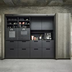 NX 640 quercia elegante grigio perla | Cucine parete | next125