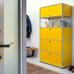 USM Haller Credenza | Golden Yellow | Cabinets | USM