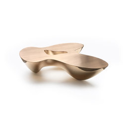 Quark | Bronze | 3 Elements | Coffee tables | Babled