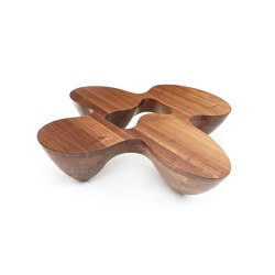 Quark | Wood | 4 Elements | Coffee tables | Babled