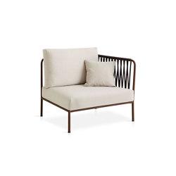 Nido Hand-woven short side module | Armchairs | Expormim