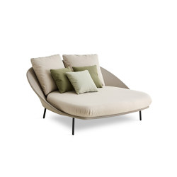 Twins Tumbona doble | Chaise longues | Expormim